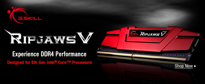 RIPJAWS V Experience DDR4 Performance