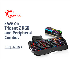 Save on Trident Z RGB and Peripheral Combos