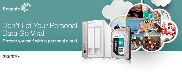 Seagate Personal Cloud  Don't Let Your Personal Data Go Viral.