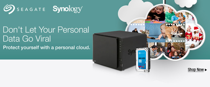 Seagate Personal Cloud  Don't Let Your Personal Data Go Viral