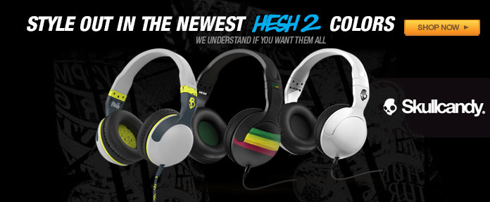 Style out in the newest HESH 2 Colors