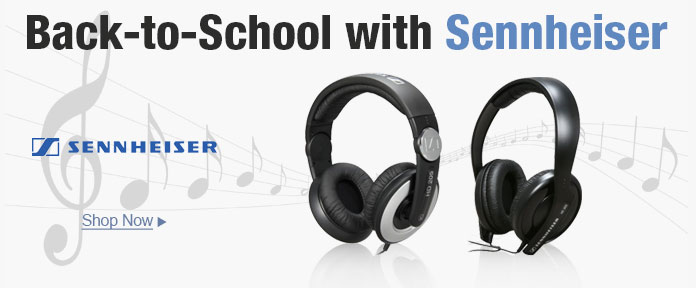 Back to School with Sennheiser