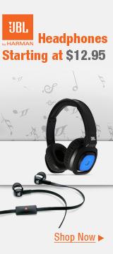 Headphones Starting at $12.95