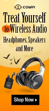 Treat yourself to wireless audio