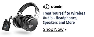 Treat yourself to wireless audio