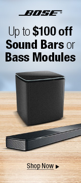 Up to $100 off sound bard or bass modules