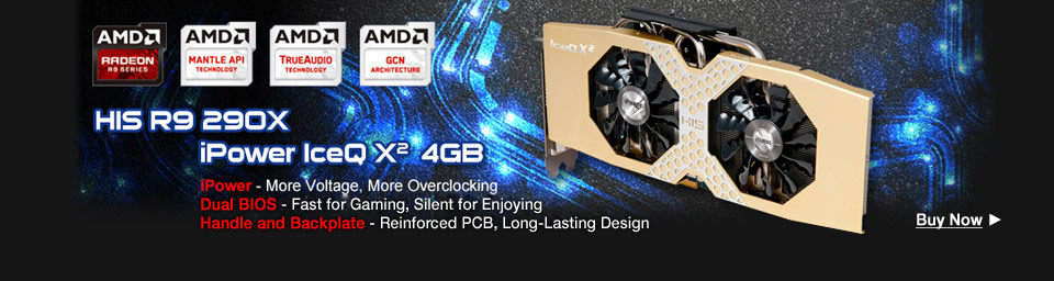 HIS IceQ X² H290XQM4GD Radeon