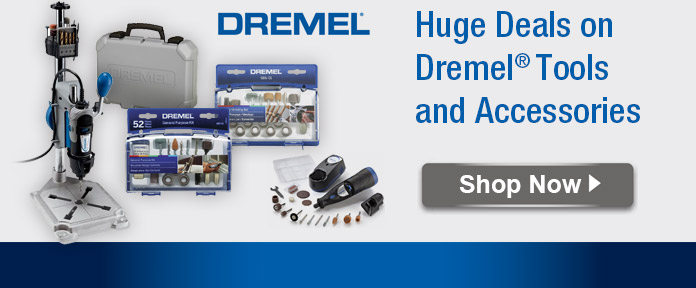 Huge Deals on Dremel Tools and Accessories