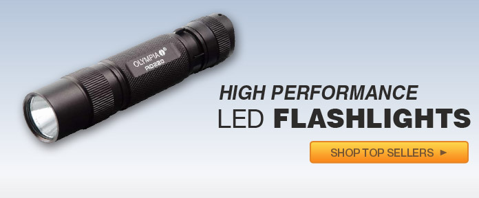 High Performance LED Flashlights