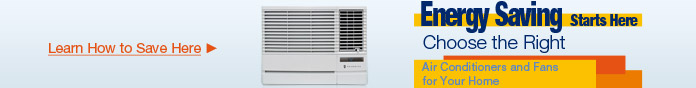 Choose the Right Air Conditioners and Fans