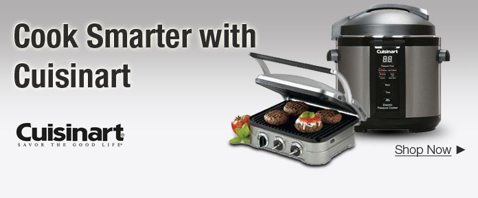 Cook Smarter with Cuisinart
