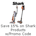 Save 15% on Shark Products with Promo Code