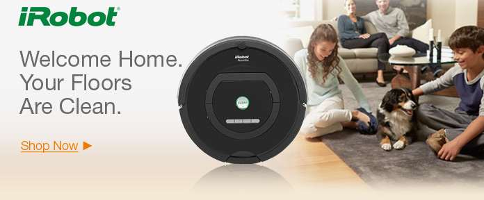 iRobot – Welcome Home. Your Floors Are Clean
