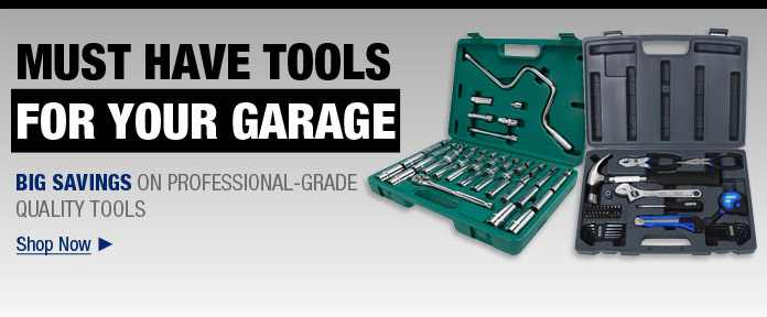 Must Have Tools For Your Garage