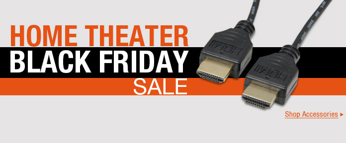 Home Theater Black Friday Sale