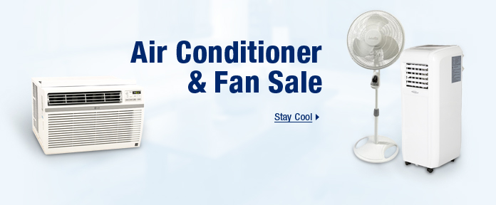 Air conditioner & fan sale
