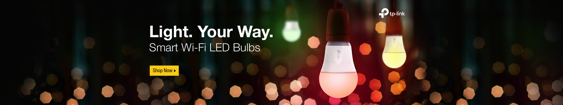 Light. Your Way. Smart Wi-Fi LED Bulbs