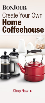 Create Your Own Home Coffeehouse