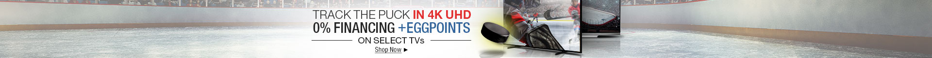 TRACK THE PUCK IN 4K UHD