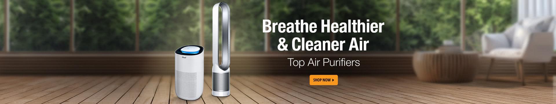 Breath healthier & cleaner air