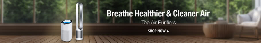 Breath healthier & cleaner air