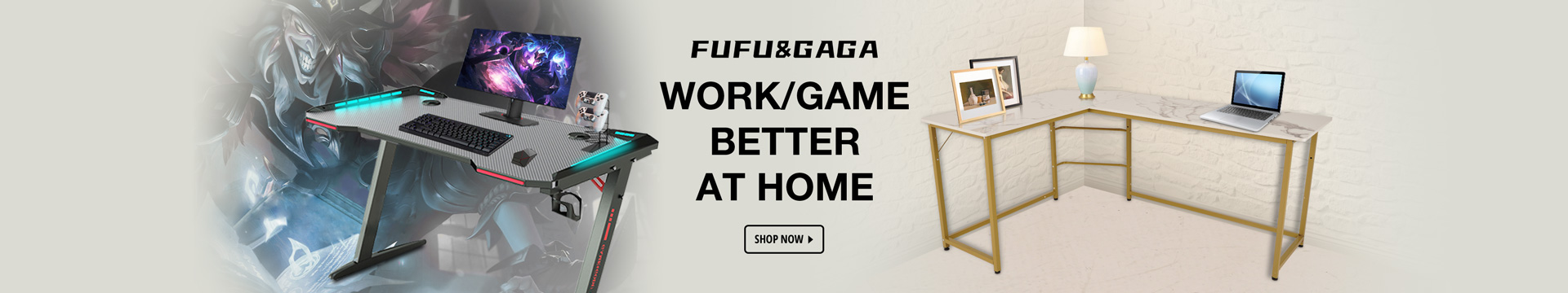 Work/Game better at home