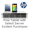 Free Tablet with Select Server System Purchases