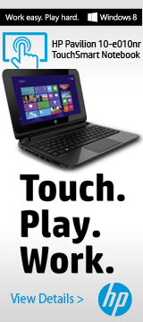 HP Pavilion TouchSmart Notebook