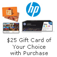 $25 Gift Card of Your Choice with Purchase