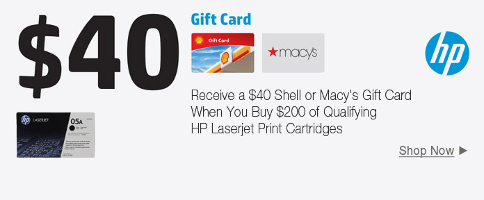 $40 Gift Card With Purchase