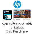 Receive a $20 Darden or Macy's Gift Card with a Select Ink Purchase