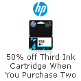 Buy Two Eligible Original HP Ink Cartridges and Get the Third for 50% Off
