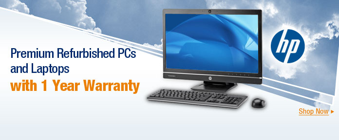 Premium refurbished PCs and laptops