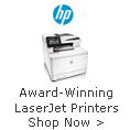 Award-Winning LaserJet Printers