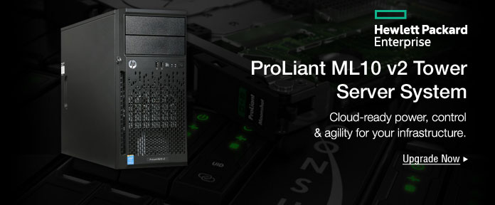 ProLiant ML10 v2 Tower Server System