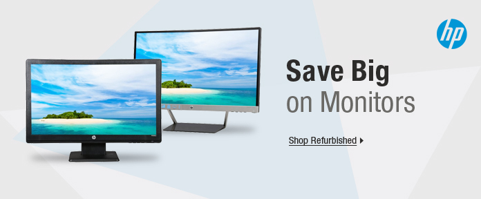Save big on monitors