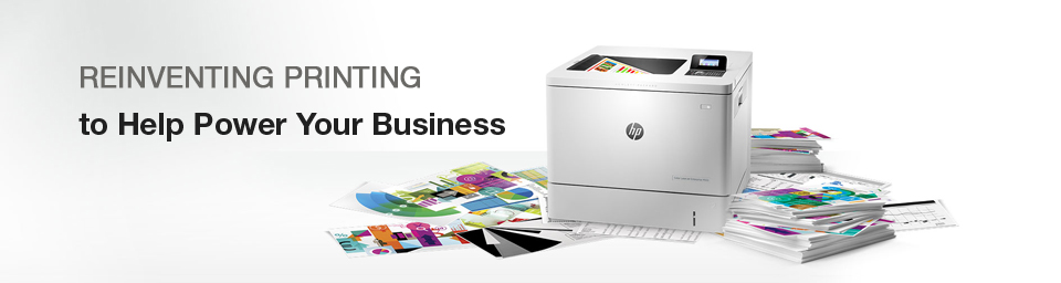 Reinventing Printing to Help Power Your Business