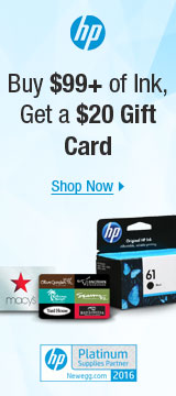Buy $99+ of ink, get a $20 gift card
