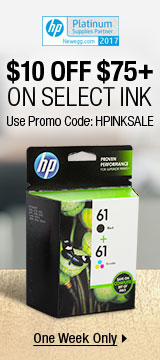 $10 off $75+ On Select Ink