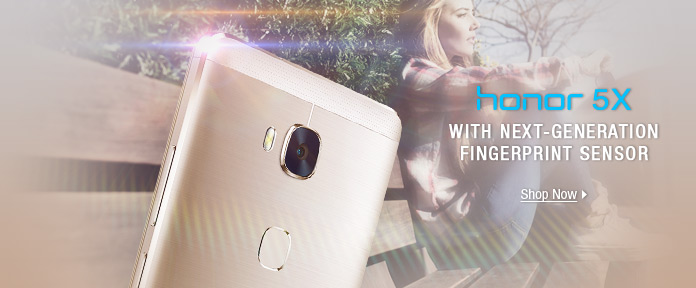 Honor 5X with NEXT-GENERATION fingerprint sensor