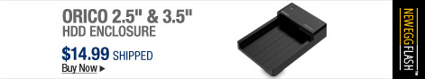 "Newegg Flash – ORICO 2.5"" & 3.5"" HDD Enclosure"