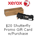 $20 Shutterfly Promo Gift Card w/ Purchase