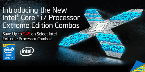 New Intel Core i7 Processor Combos