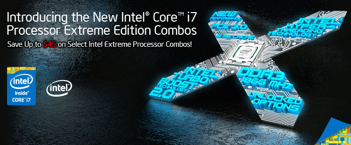 Introducing the New Intel® Core™ i7 Processor Extreme Edition Combos
