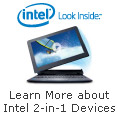 2 in 1 devices with Intel Inside®