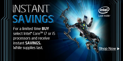 Intel Instant Savings