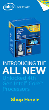 Unlocked 4th Gen Intel Core Processors