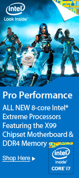 Meet the ALL NEW 8-Core Intel® Extreme Processors