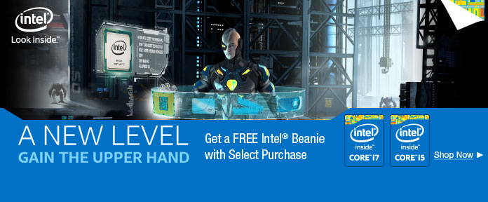 A NEW LEVEL- Get a FREE Intel® Beanie with Select Purchase