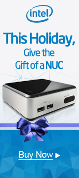 THIS HOLIDAY, Give the Gift of a NUC and SAVE